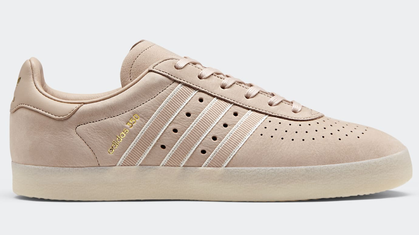 new style d0f69 a5b13 Image via Adidas Oyster Holdings x Adidas 350 Trace Scarlet DB1976
