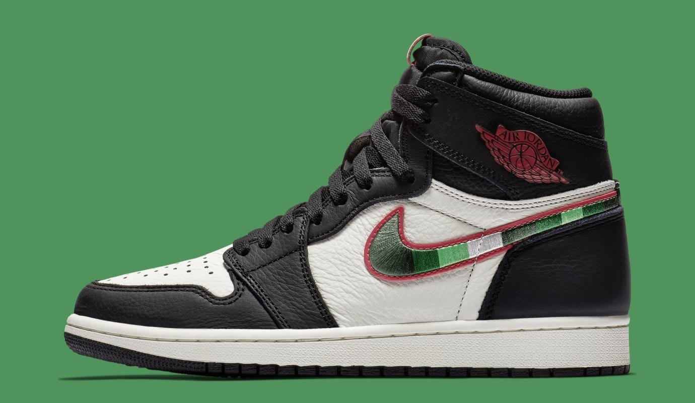 huge selection of fbfdd 620dc Air Jordan 1  A Star Is Born  555088-015 (Lateral)