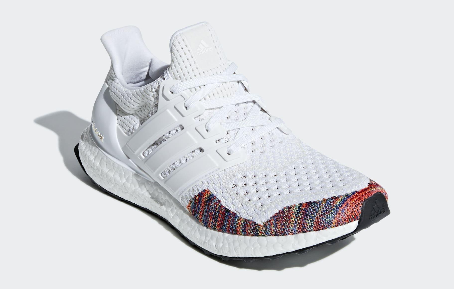 Adidas Ultra Boost 1.0 'White Multi' BB7800 (Toe)