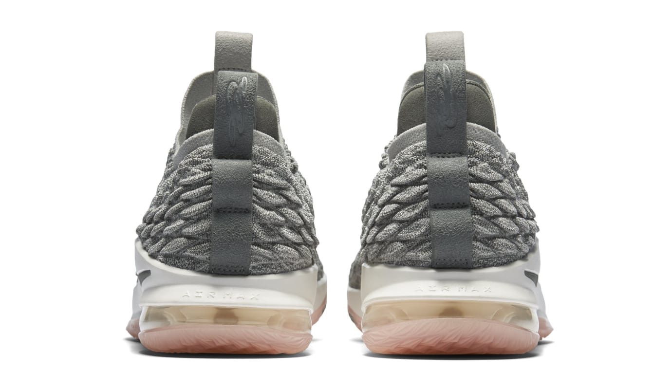 aa1470744d0 Image via Nike Nike LeBron 15 Low  Light Bone  AO1755-003 (Heel)