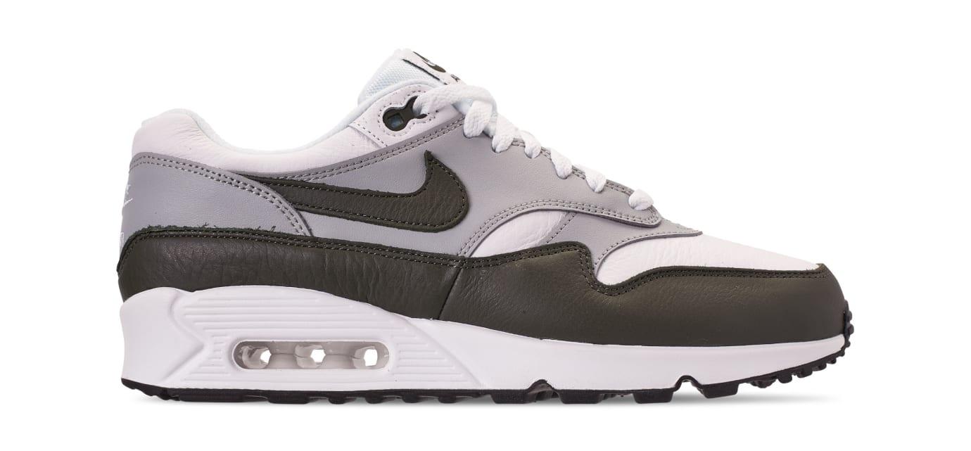 Nike Air Max 90/1 'White/Dark Obsidian-Neutral Grey' (Lateral)