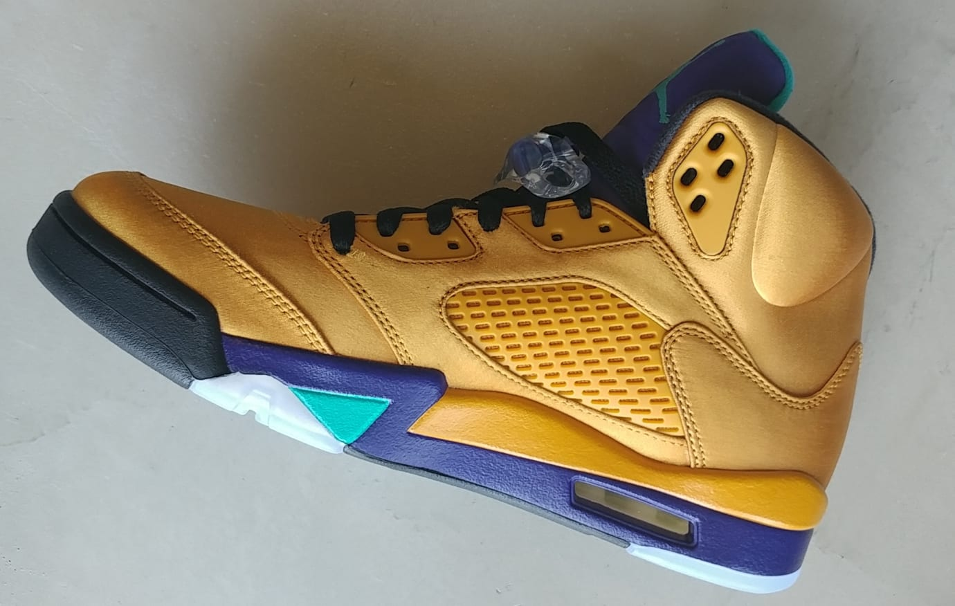 49678a90b18 Air Jordan 5 NRG  Fresh Prince  Friends and Family (Medial) Image via Will  Smith ...