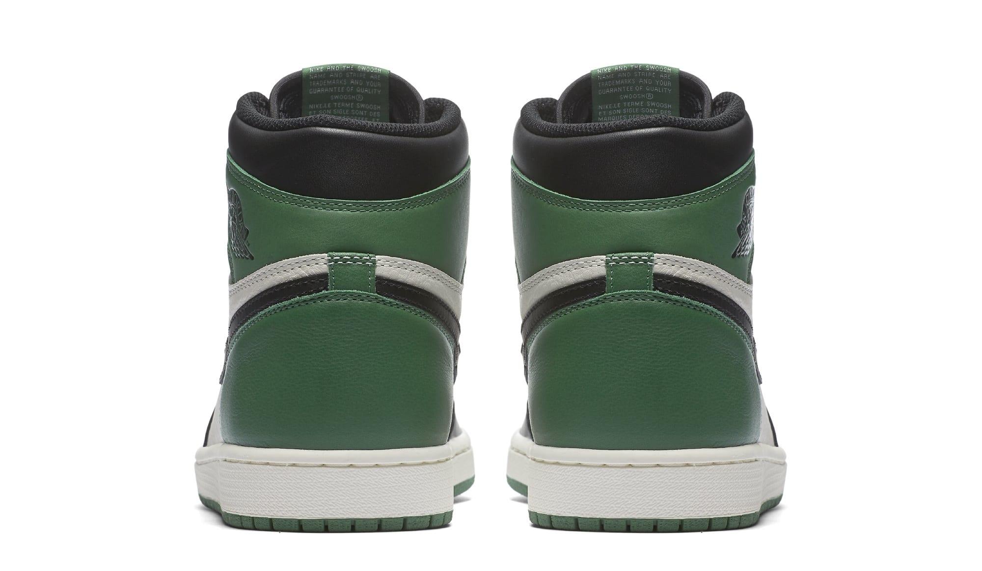 Air Jordan 1 High OG 'Pine Green' 555088-032 (Heel)