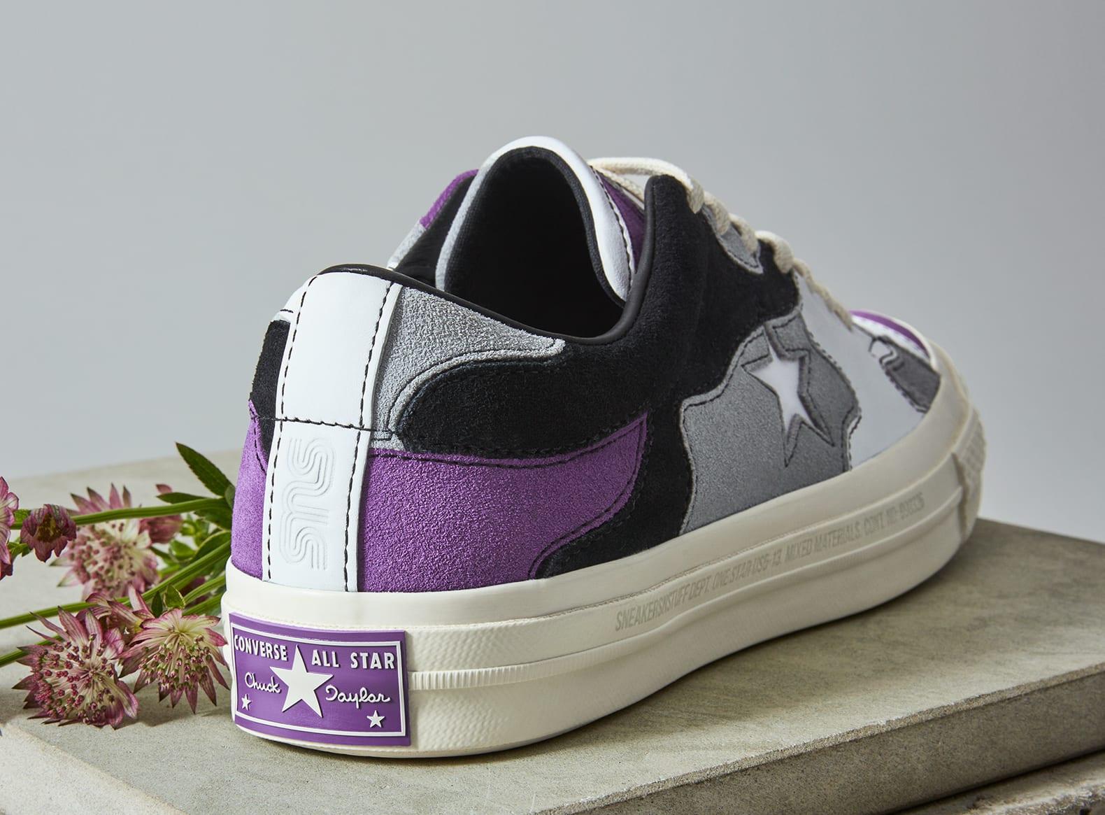 Sneakersnstuff x Converse One Star 'Deep Lavender' (Heel)
