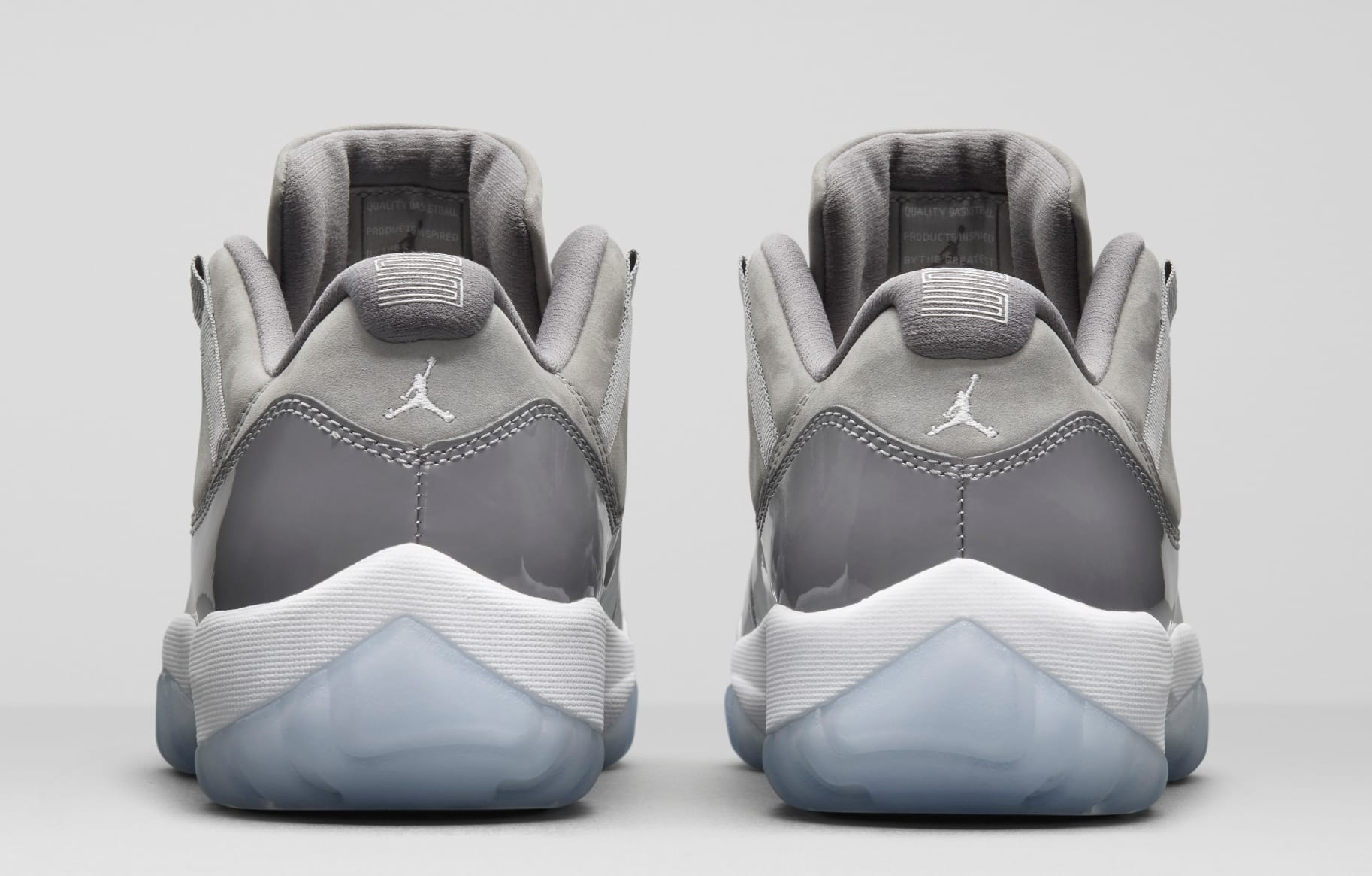 Air Jordan 11 Low 'Cool Grey' (Heel)