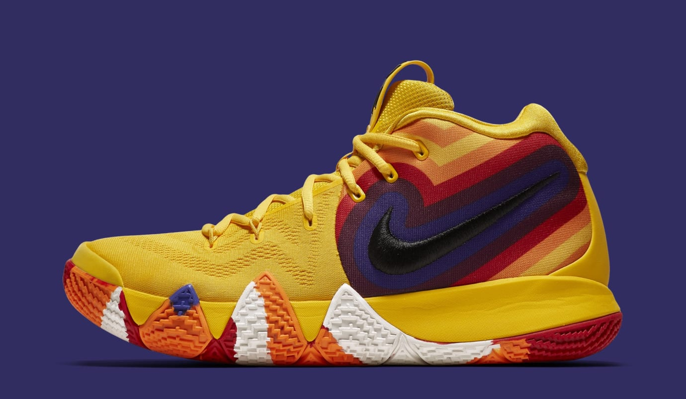 4417515da70 Nike Kyrie 4 EP  Yellow Multicolor  943807-700 (Lateral)
