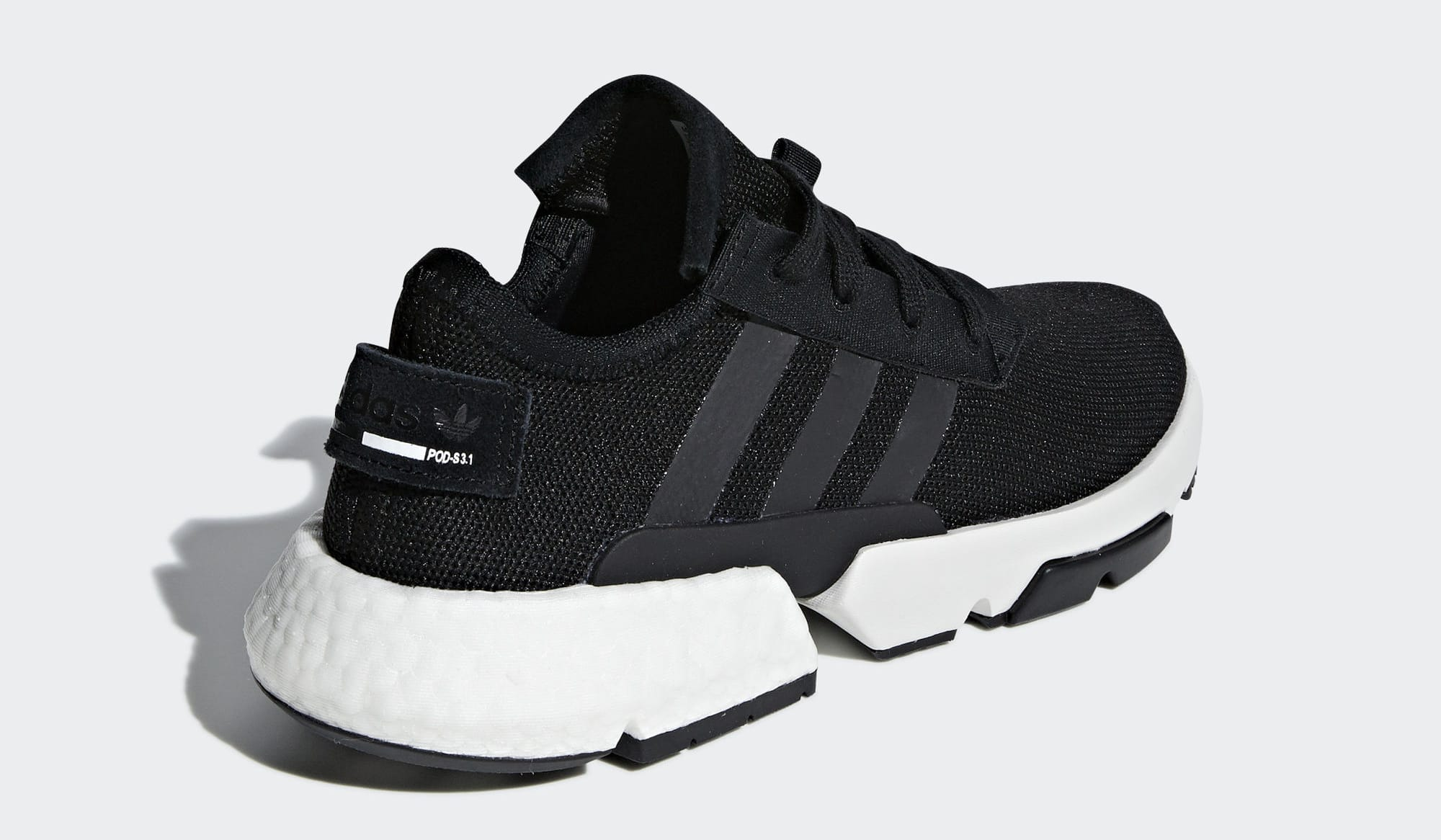 Adidas P.O.D. System Black/White B37366 (Heel)
