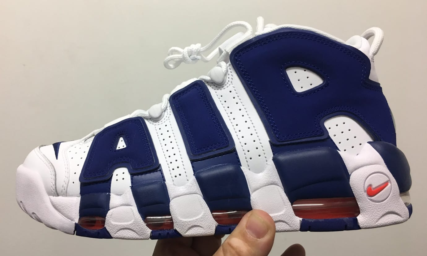 Nike Air More Uptempo Knicks Ewing Release Date Profile 921948-101