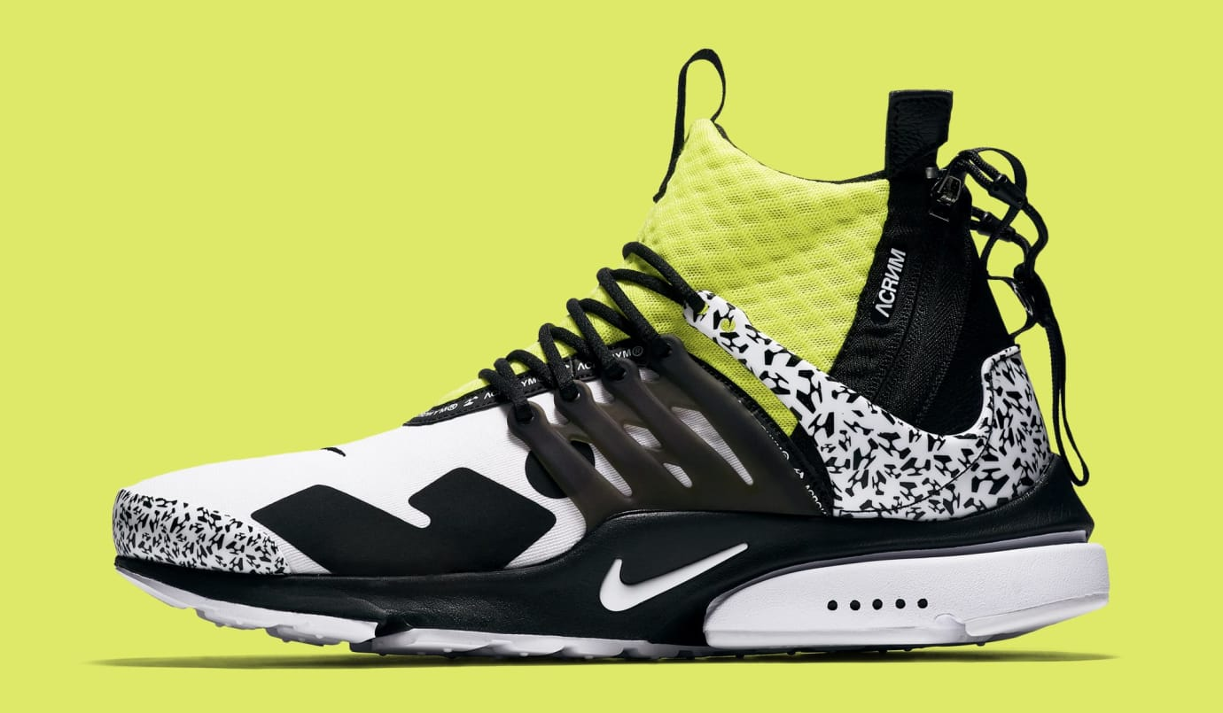 a41cf36f20323c Acronym x Nike Air Presto Mid  White Dynamic Yellow Black  AH7832-