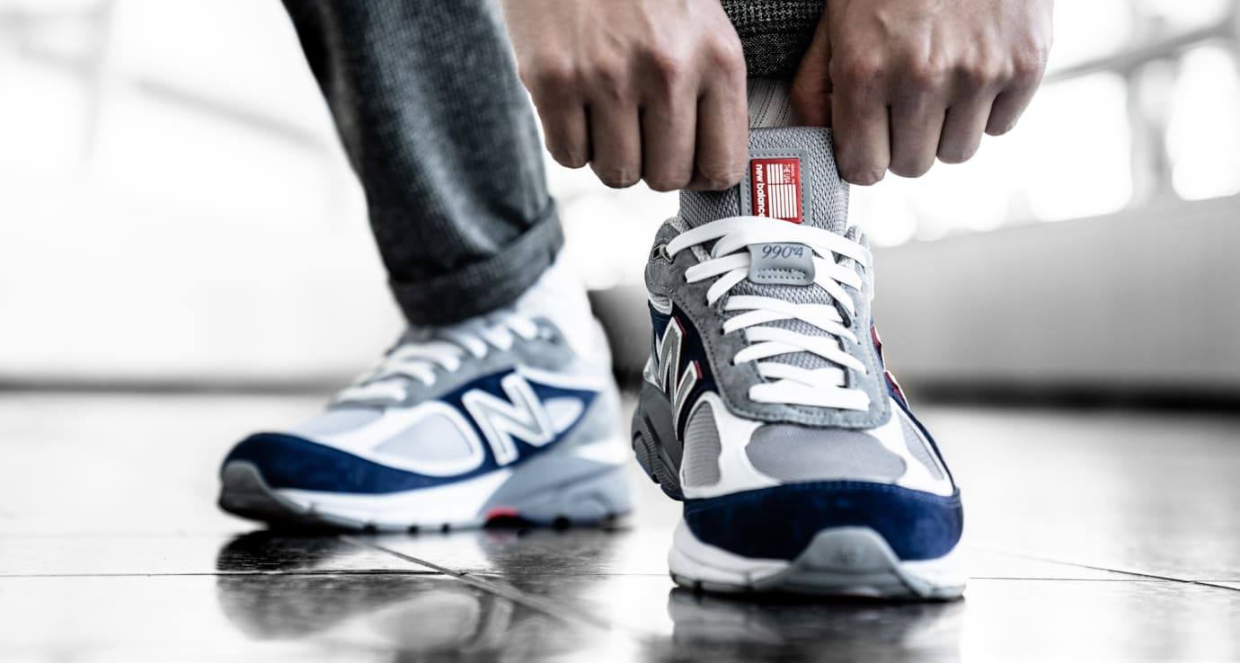 DTLR/Villa x New Balance 990 (On-Foot Front)