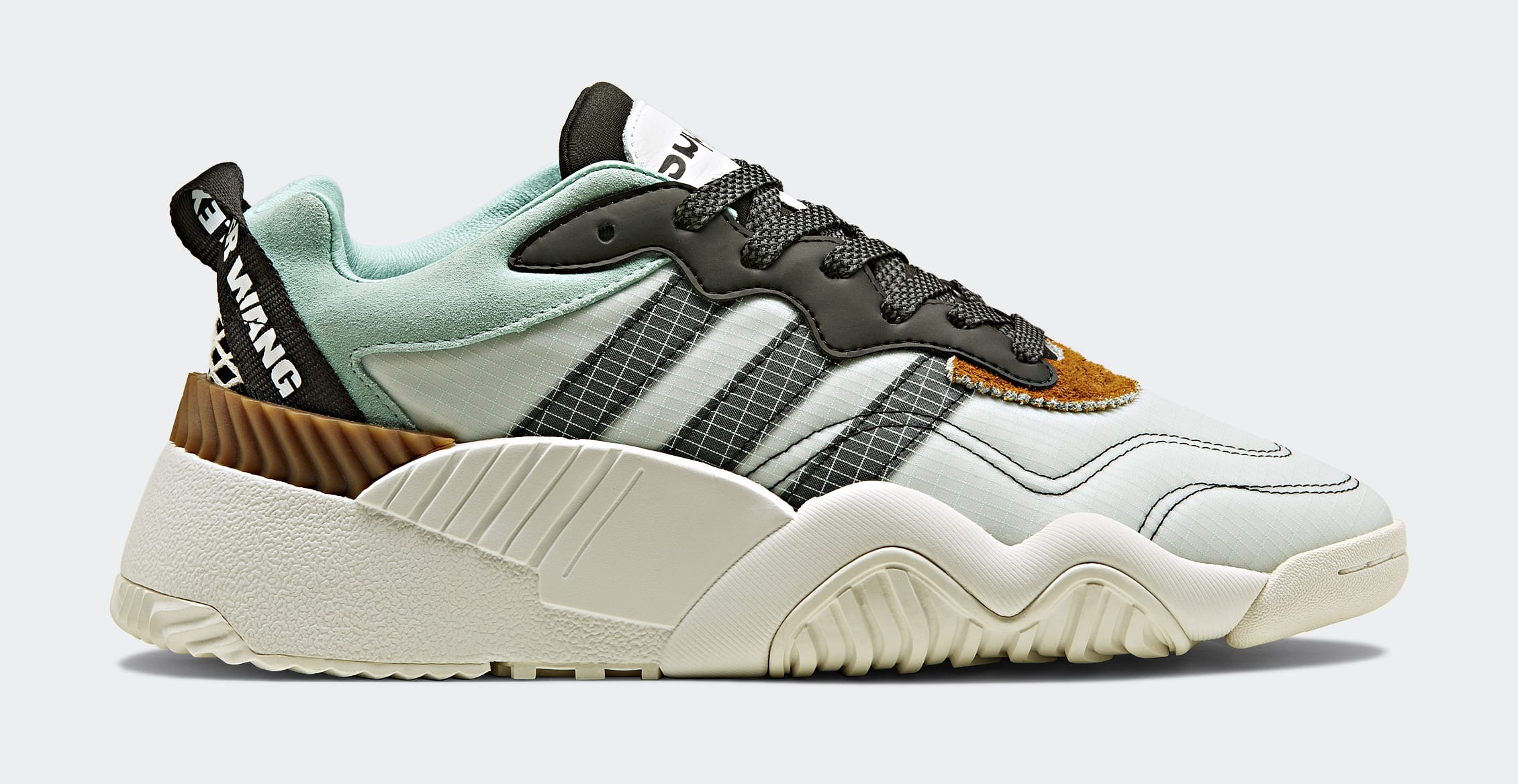 8a0776723bea1 Image via Adidas Alexander Wang x Adidas AW Turnout Trainer (Lateral)
