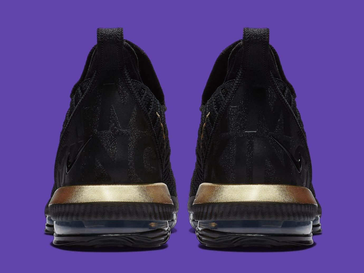 online retailer d7863 84155 Image via Nike Nike LeBron 16 XVI I m King Release Date BQ5970-007 Heel