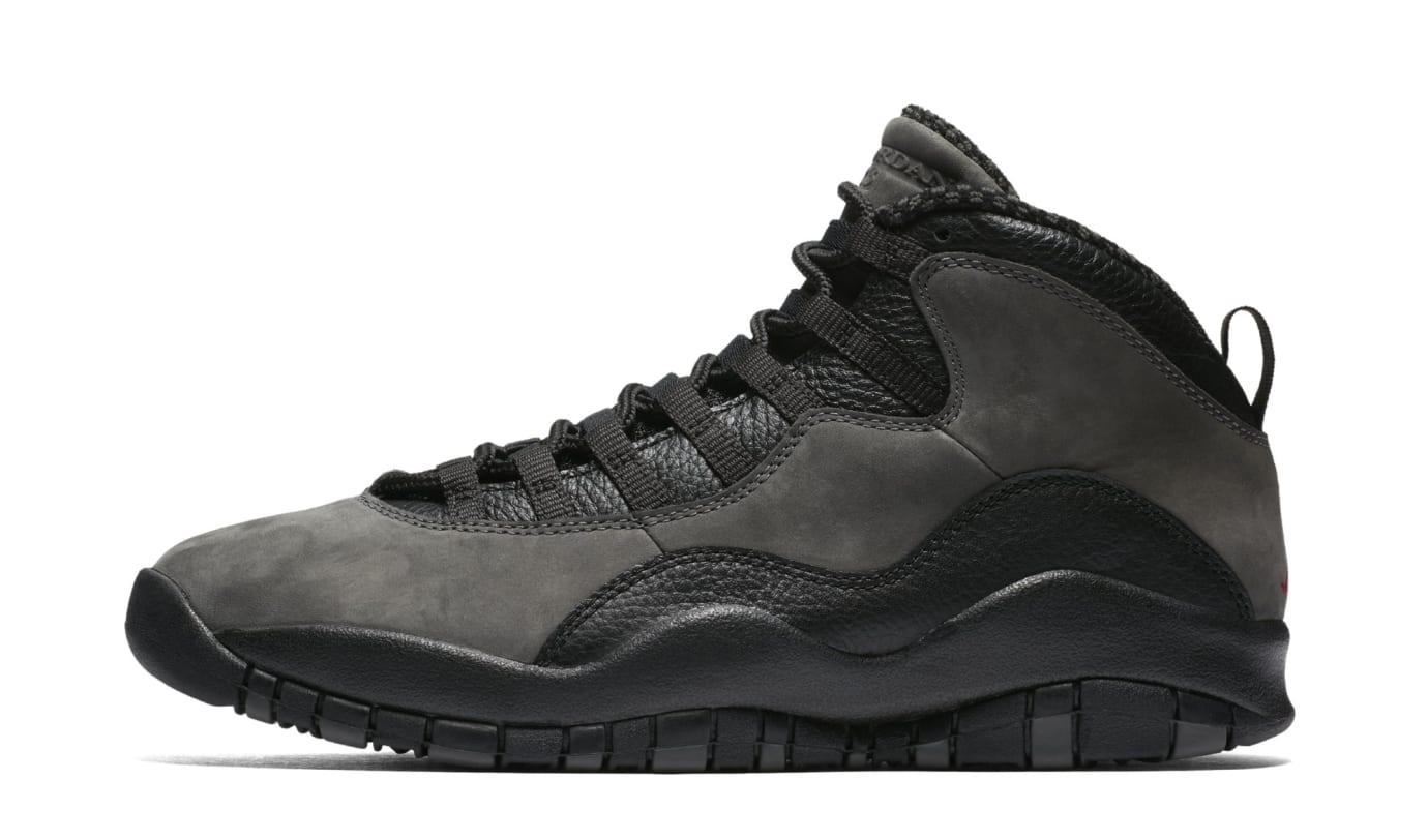 reputable site d18a3 5cb06 Air Jordan 10 Retro  Shadow  310805-002 (Lateral)