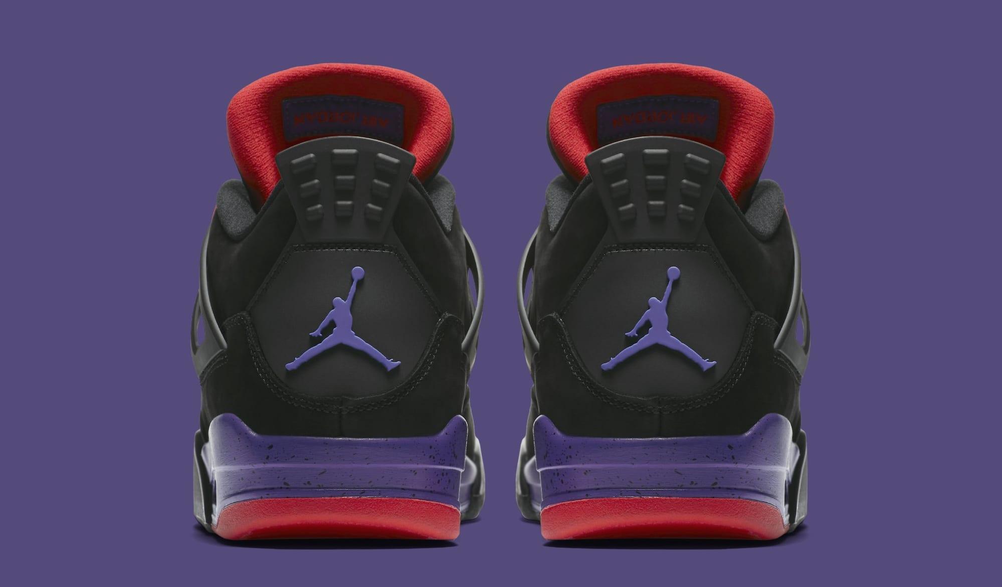 Air Jordan 4 Retro 'Raptors' AQ3816-056 (Heel)