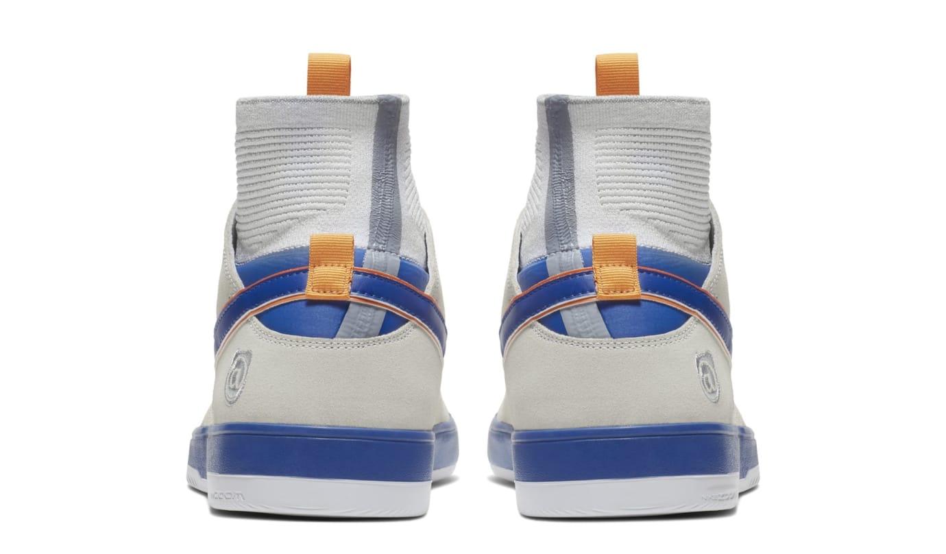 newest c3d5c 41cbc Image via Nike Medicom x Nike SB Zoom Dunk High Elite  Bearbrick   918287-147 (Heel