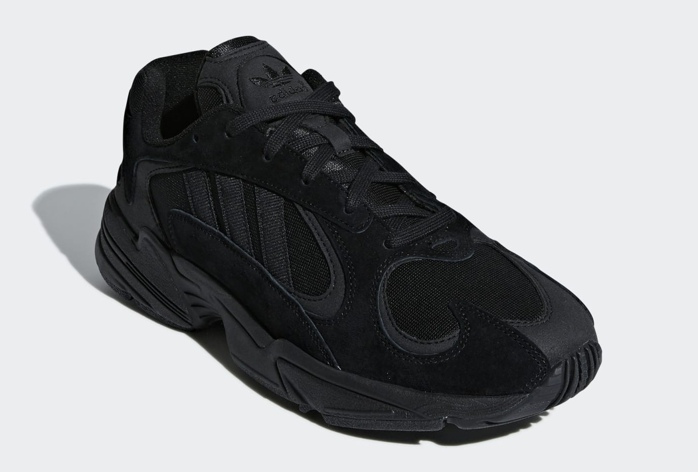 Adidas Yung-1 Triple Black Release Date G27026 Front