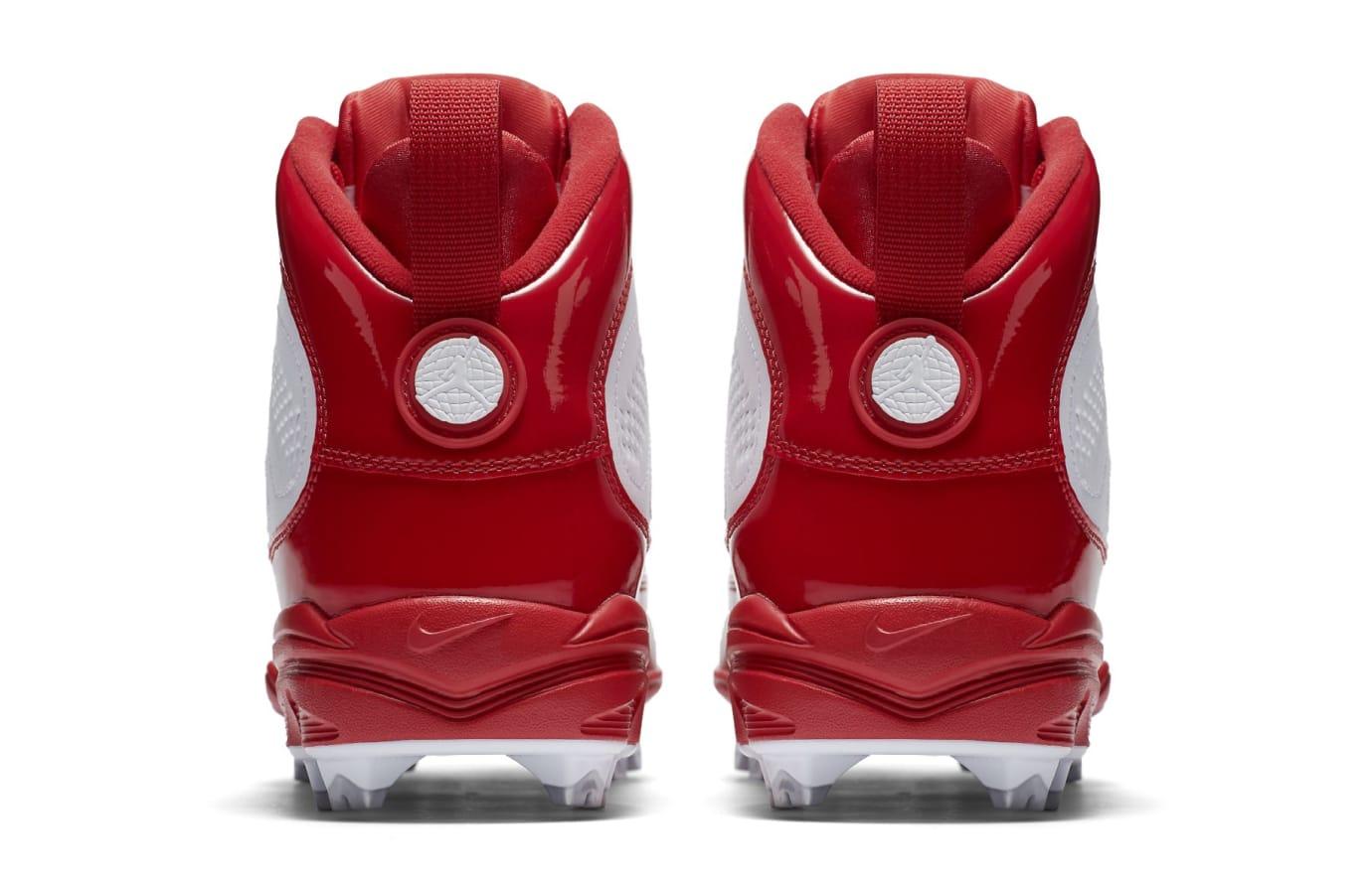 Air Jordan 9 IX MCS Baseball Cleats Red Heel