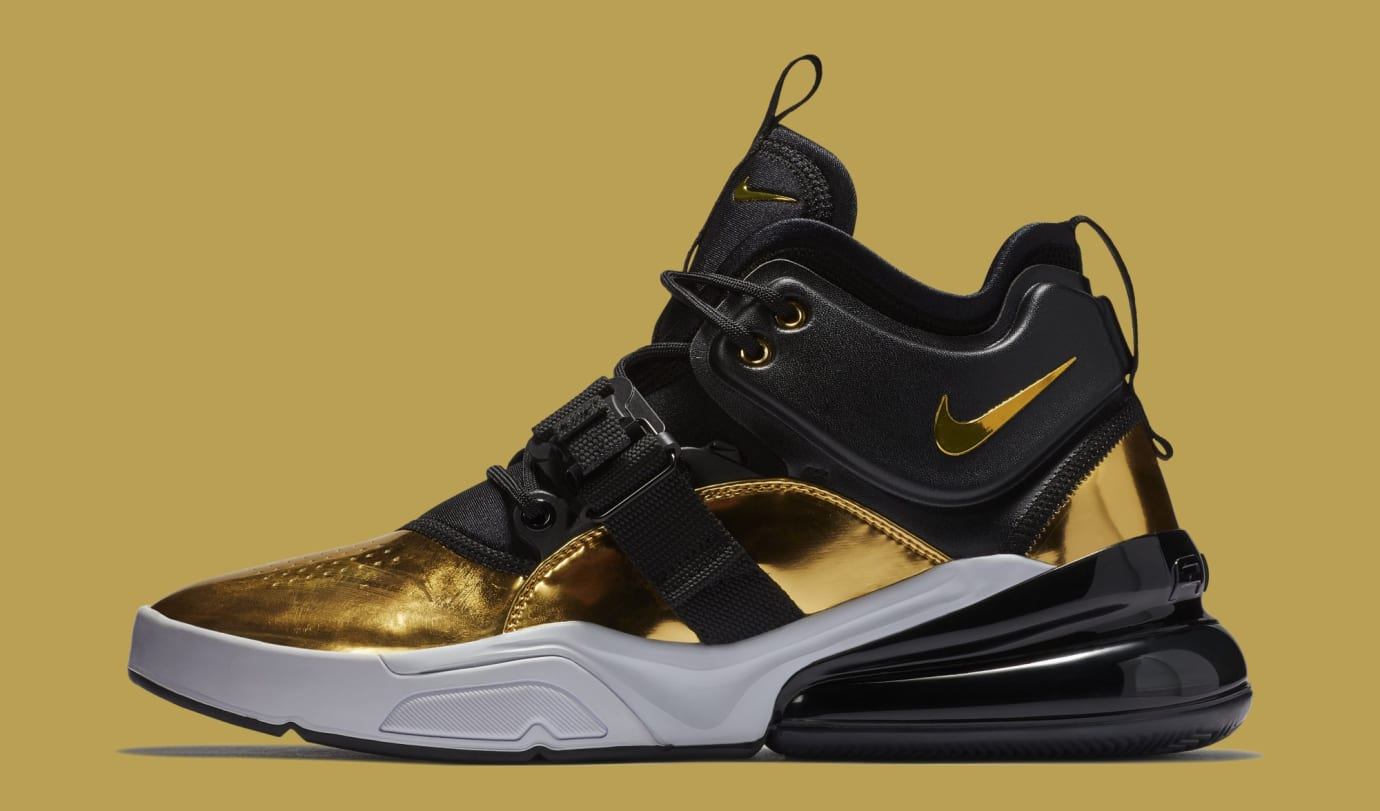 Nike Air Force 270 'Gold Standard' AT5752-700 (Lateral)