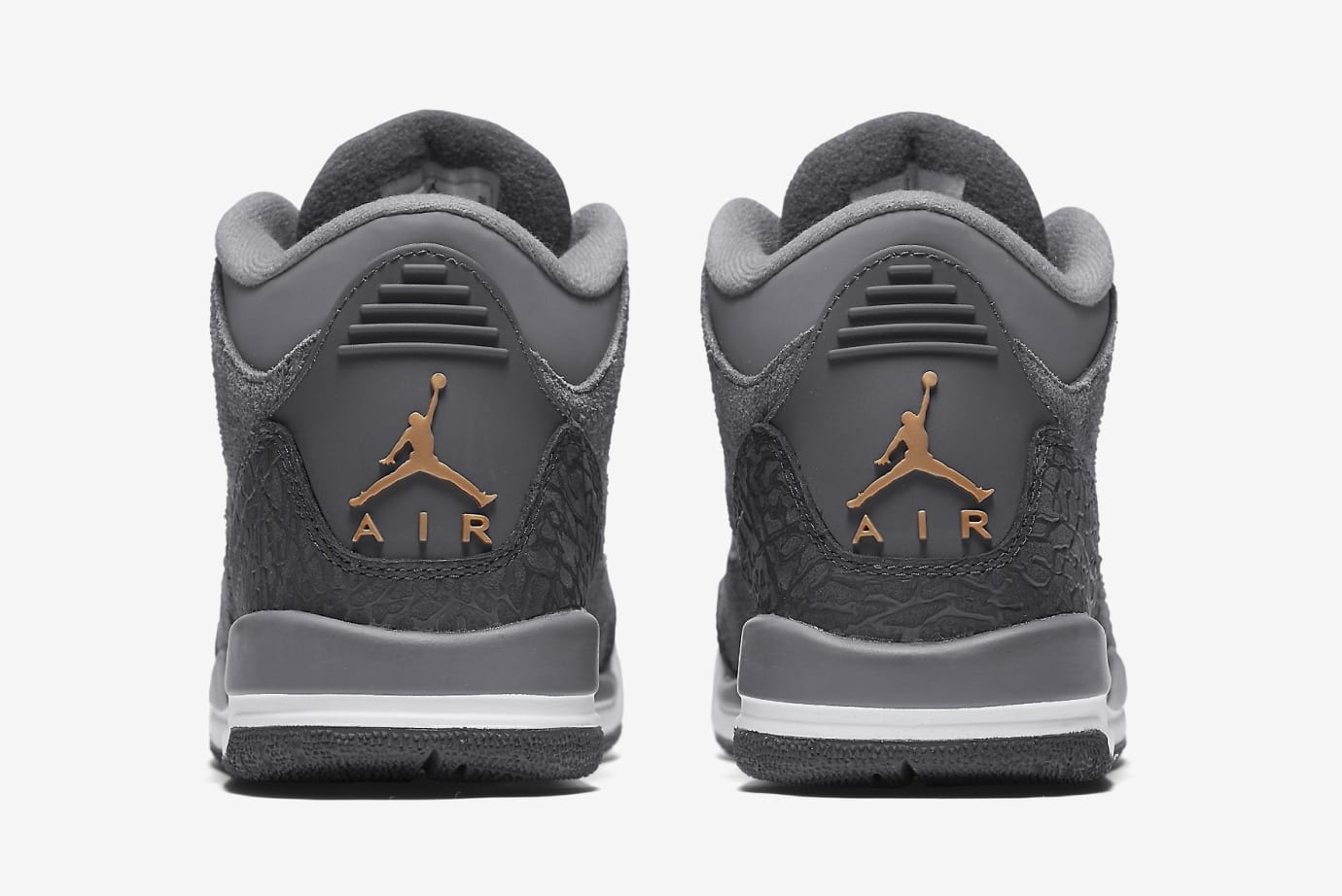 'Anthracite' Air Jordan 3 GG 441140-035 (Heel)