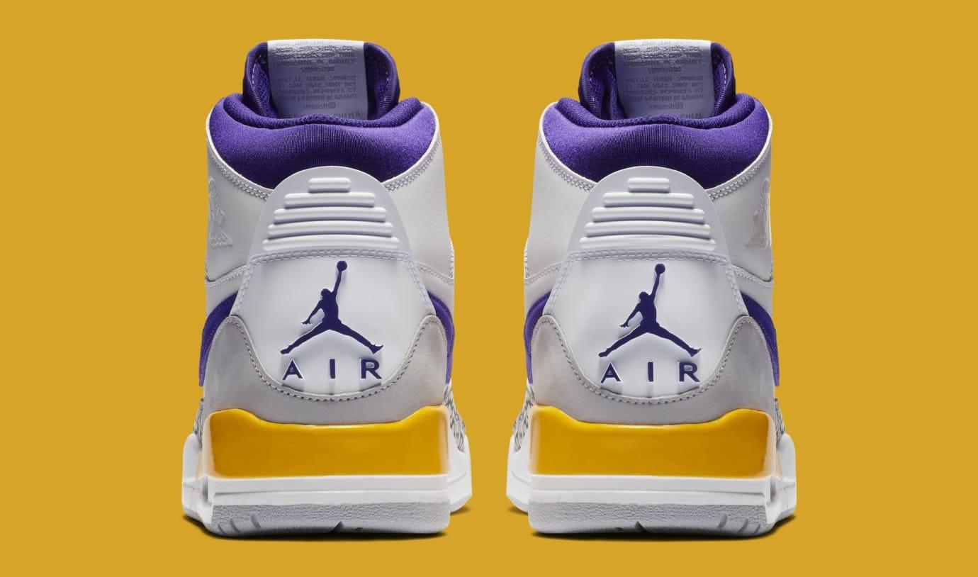 Jordan Legacy 312 'White/Field Purple-Amarillo' AV3922-157 (Heel)