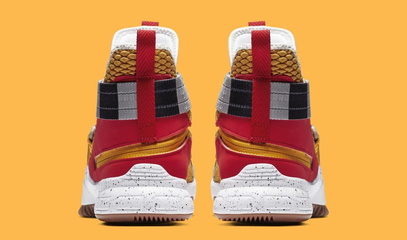 ce7fce31f63f9 Image via Nike Nike LeBron Soldier 12 FlyEase  Arthur  AV3812-700 (Heel)