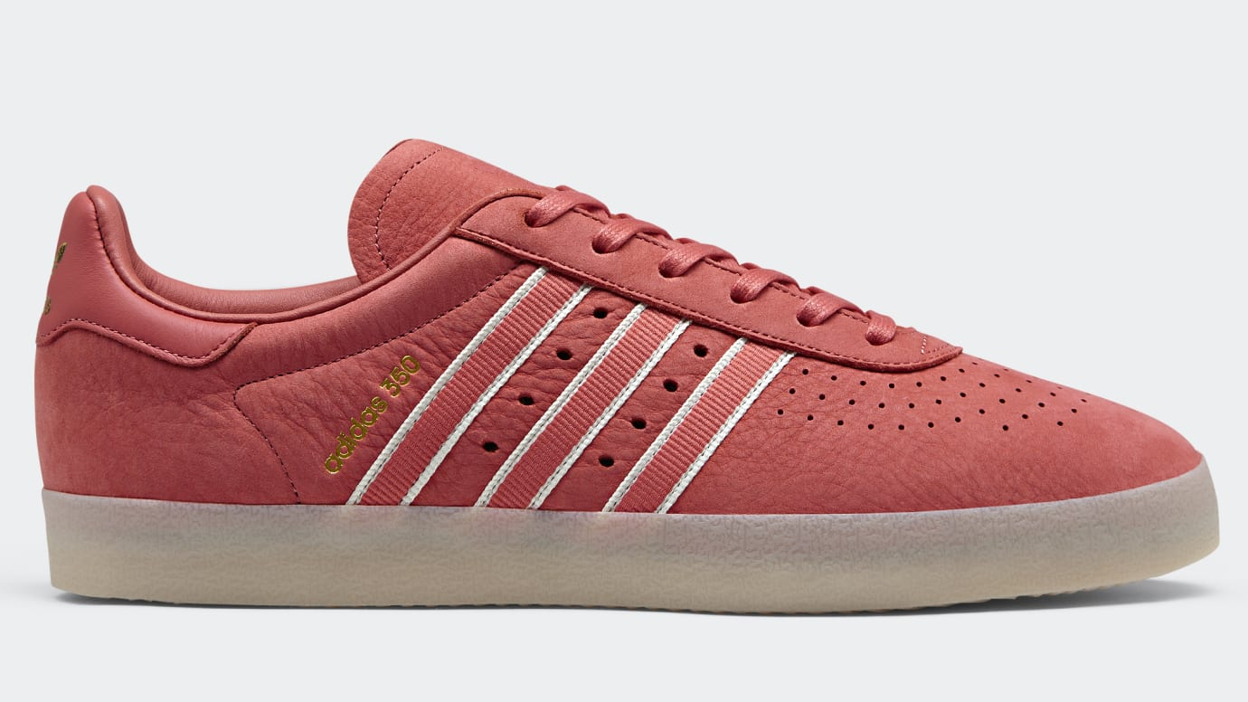 hot sale online 9f36d 3ba8f Image via Adidas Oyster Holdings x Adidas 350 Trace Scarlet DB1975