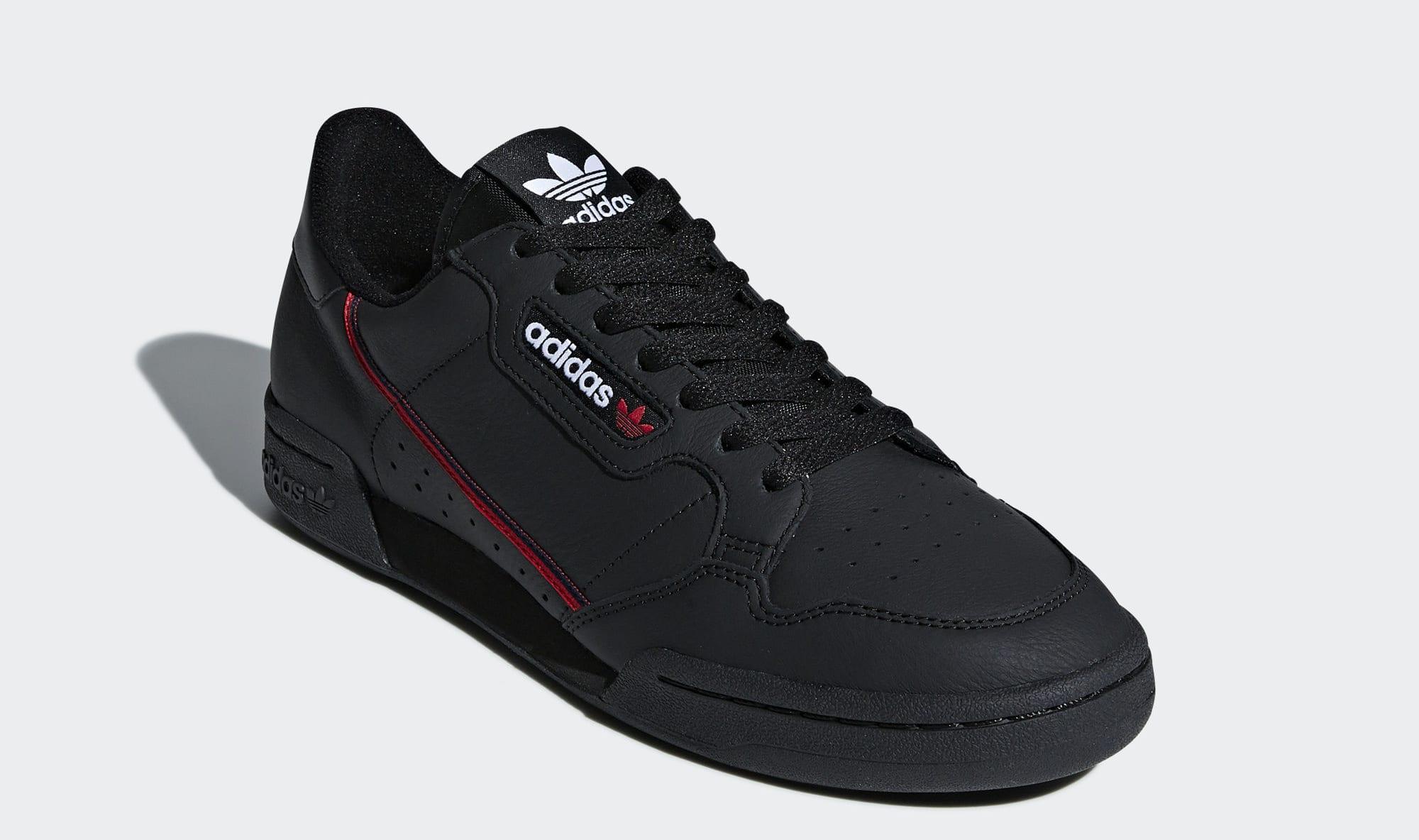 Adidas Continental 80 Rascal 'Black' B41672 (Front)