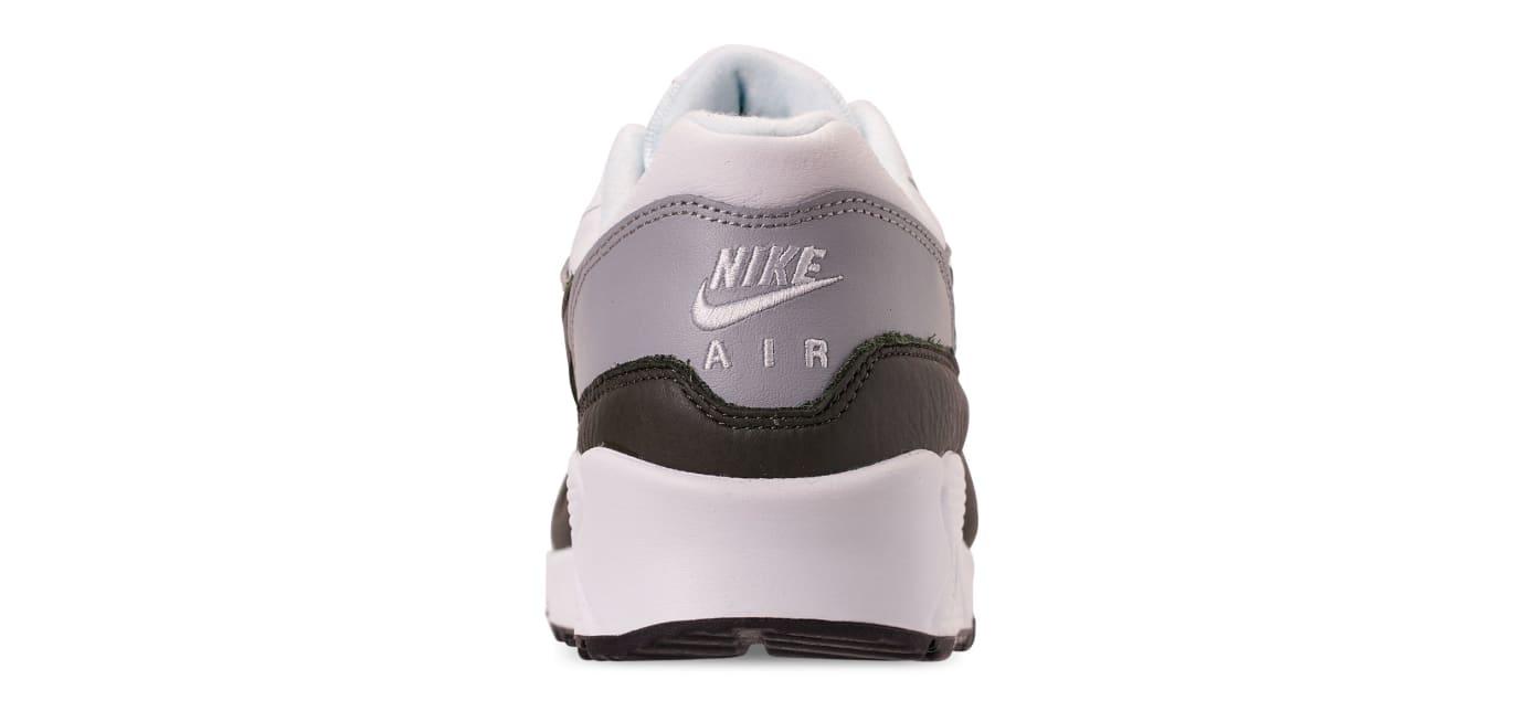 Nike Air Max 90/1 'White/Dark Obsidian-Neutral Grey' (Heel)