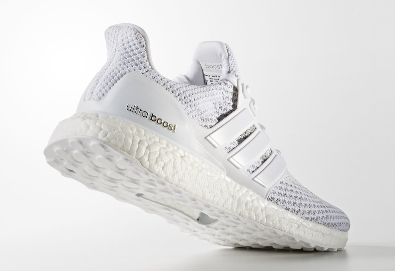 Adidas Ultra Boost 2.0 White Reflective 2018 Release Date BB3928 Lateral