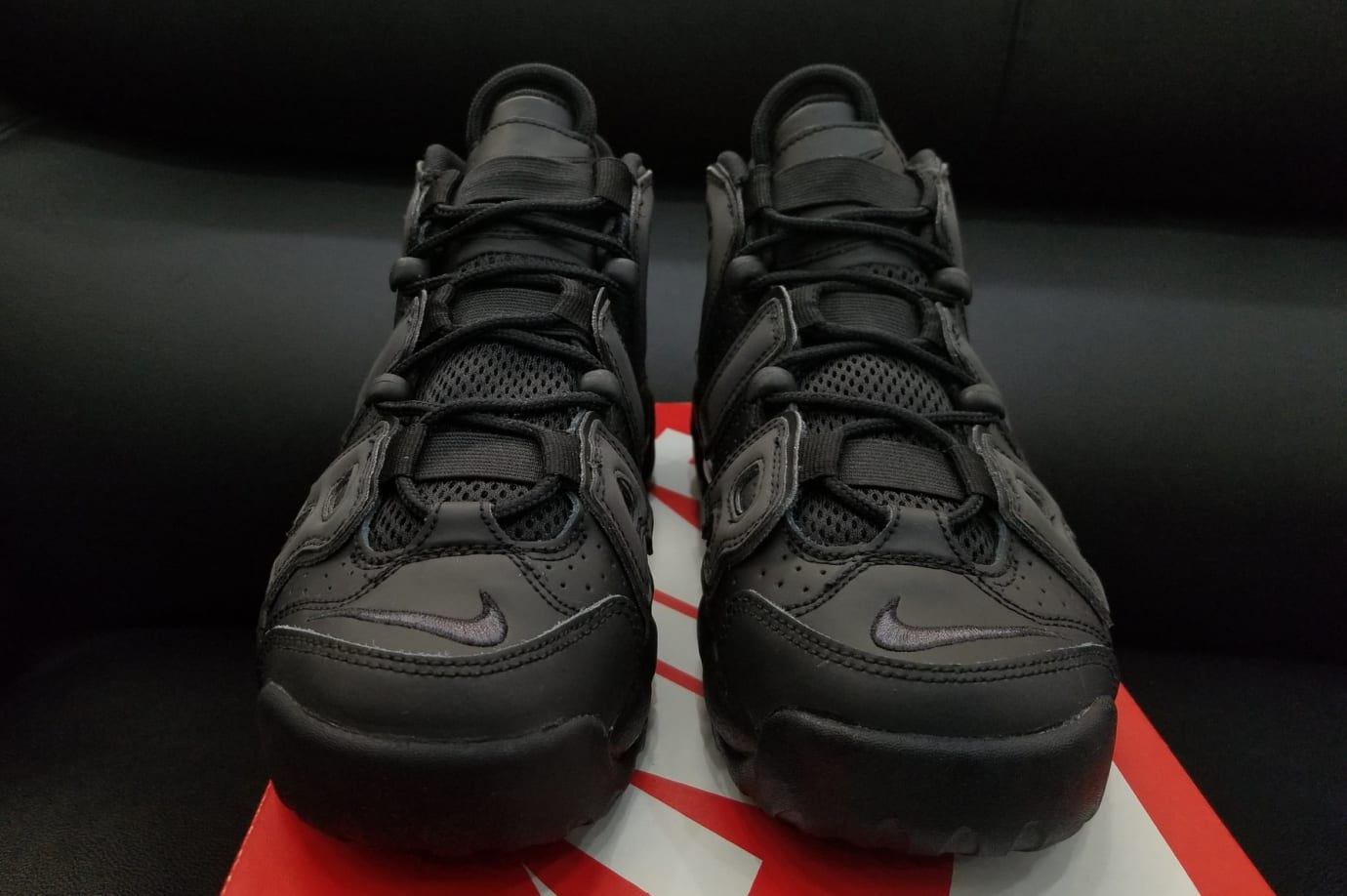 on sale 8304d 4333d Nike Air More Uptempo GS  Reflective  922845-001 (Front)