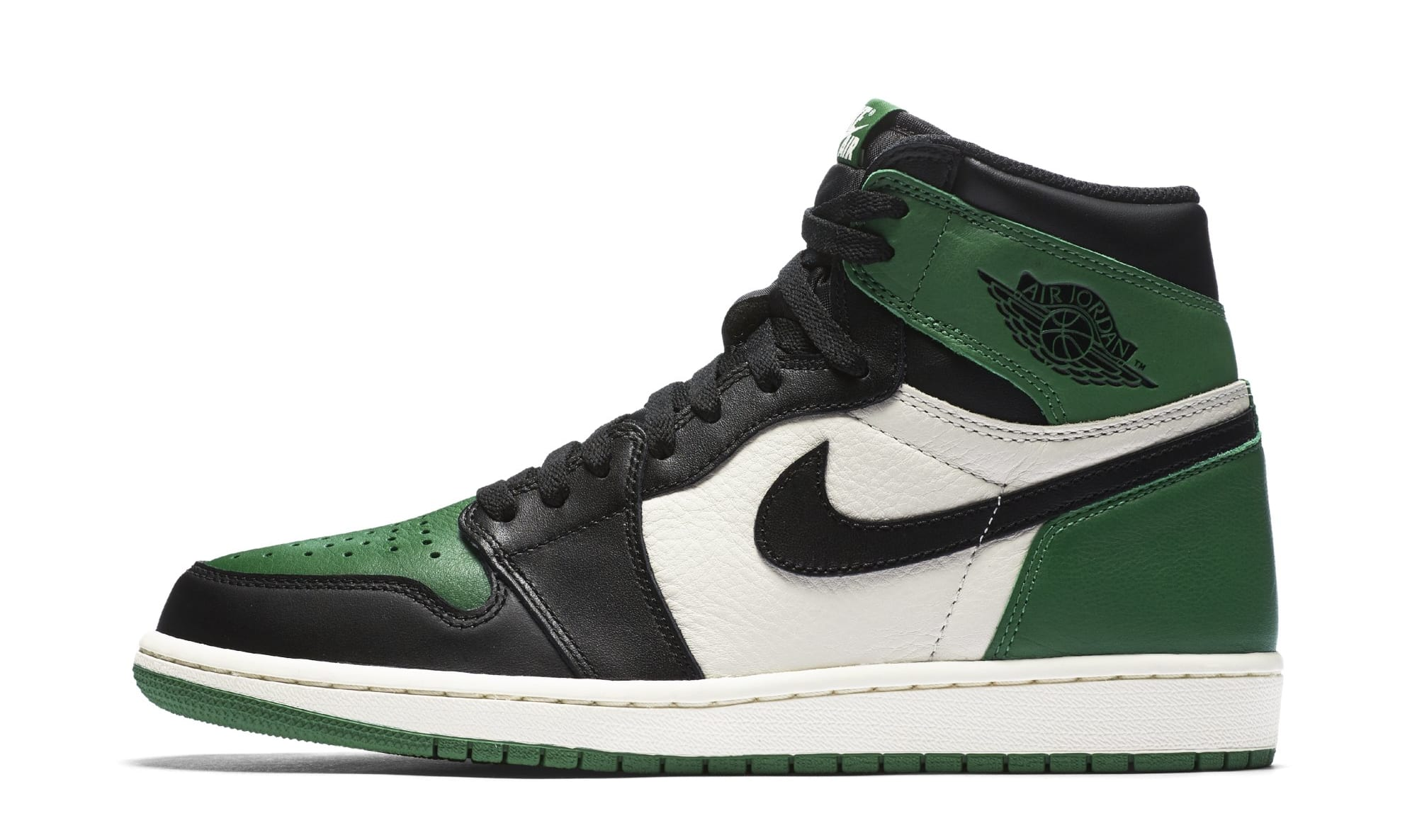 Air Jordan 1 High OG 'Pine Green' 555088-032 (Lateral)