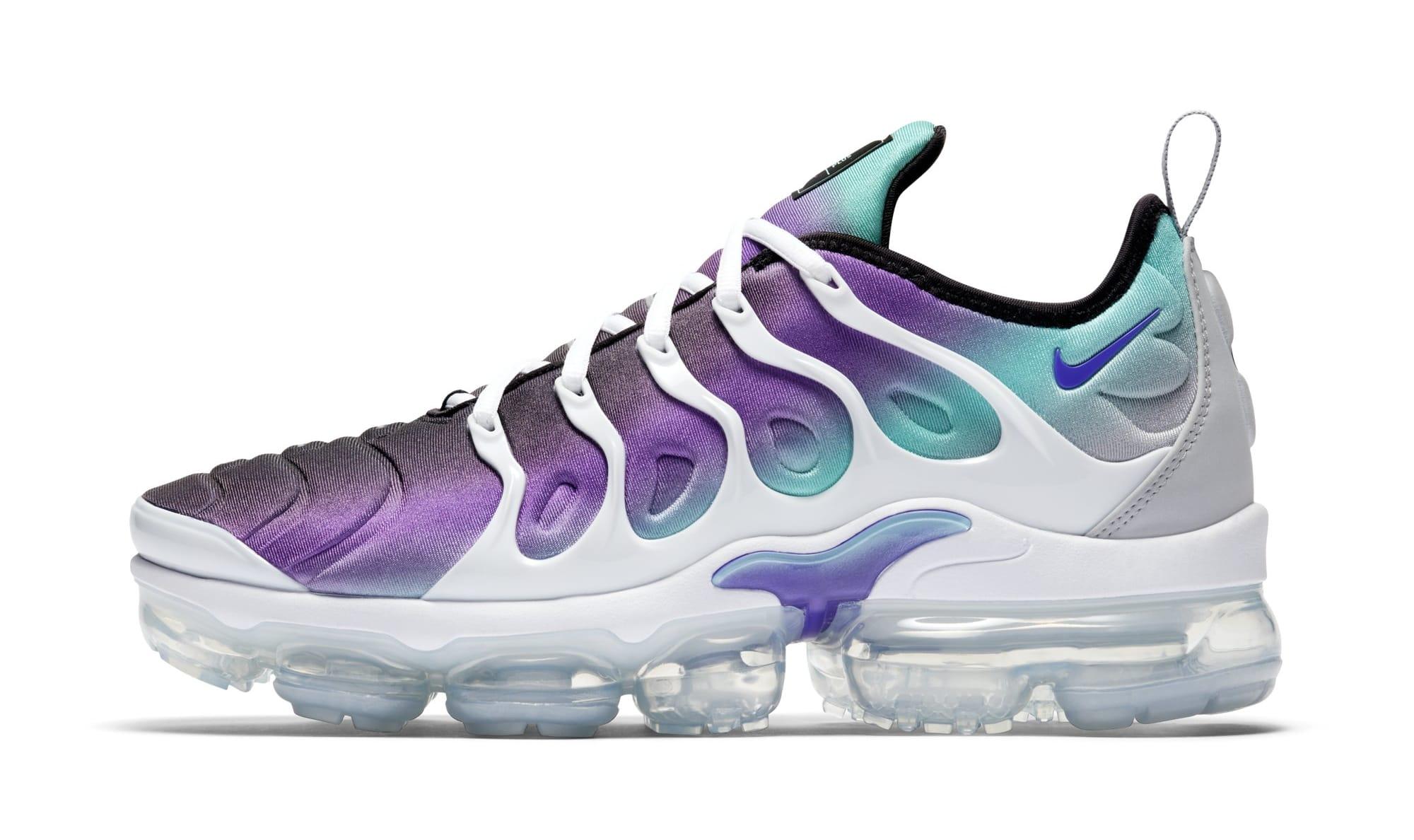 Nike Air VaporMax Plus 'Purple/Aqua' 924453-101 (Lateral)