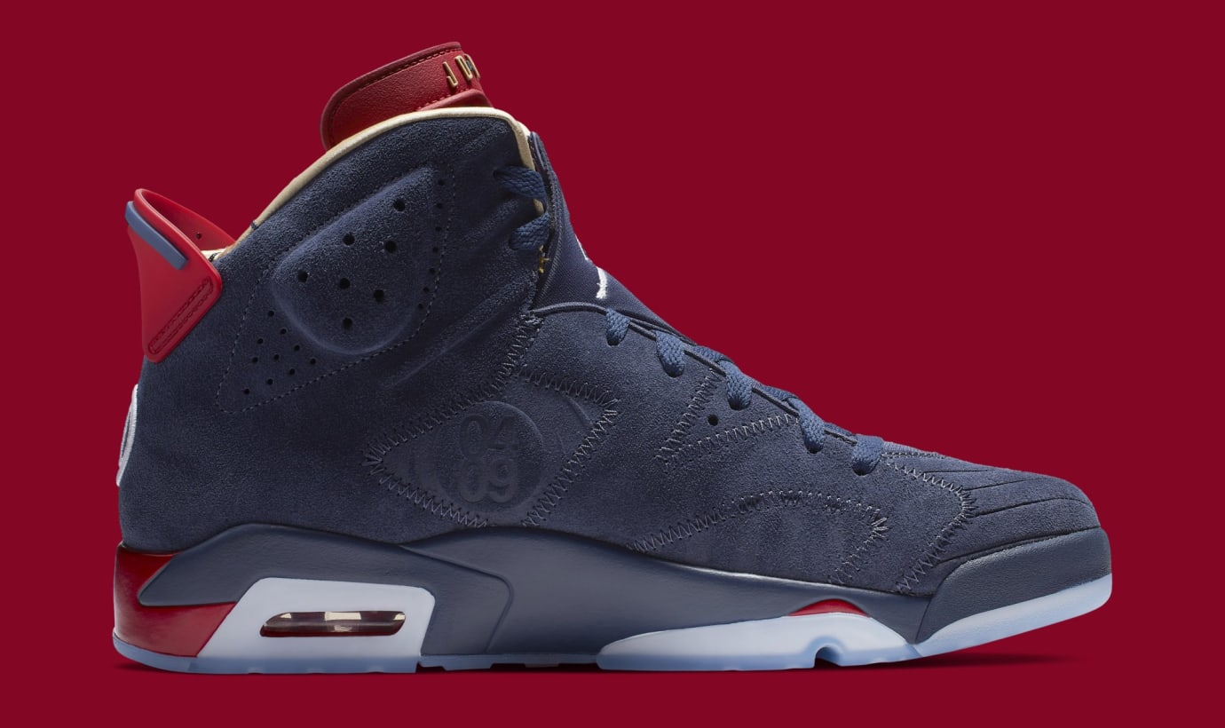 951be66d4916 Image via Nike Air Jordan 6  Doernbecher  CI6293-416 (Medial)