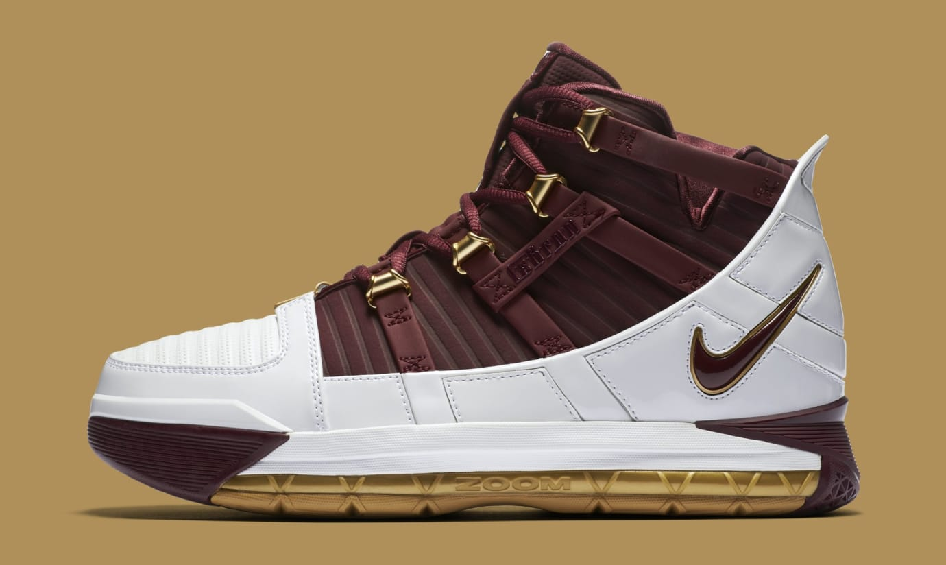 buy popular 7a7f1 28e8d Nike Zoom LeBron 3  CTK  BQ2444-100 (Lateral)
