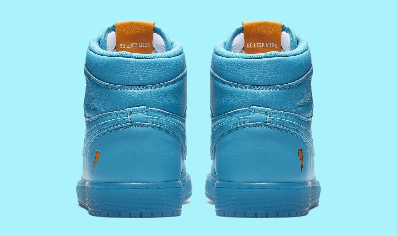 Image via Nike Air Jordan 1 High Gatorade Blue Lagoon AJ5997-455 7a1e7b0ce