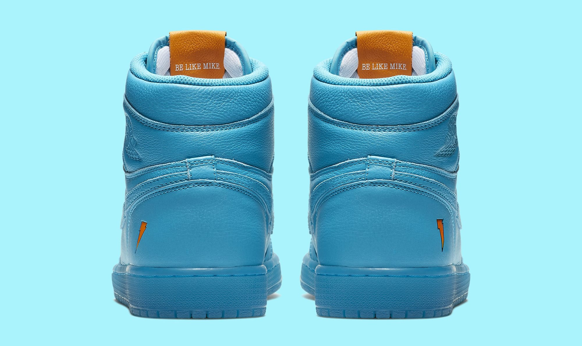 ... Image via Nike Air Jordan 1 High Gatorade Blue Lagoon AJ5997-455 ... 9e306f9f0