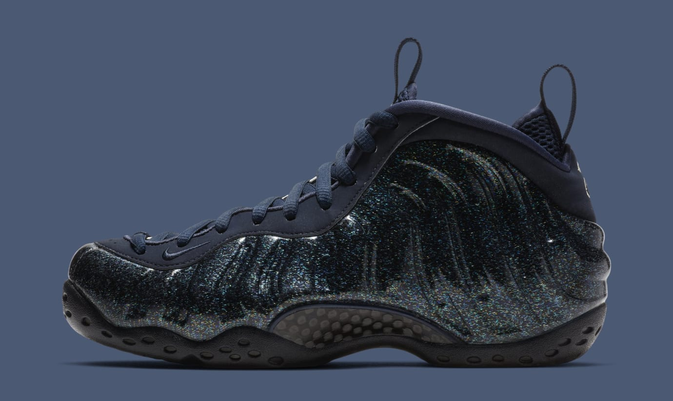 buy popular eead6 1a69d WMNS Nike Air Foamposite One  Obsidian  AA3963-400 (Lateral)
