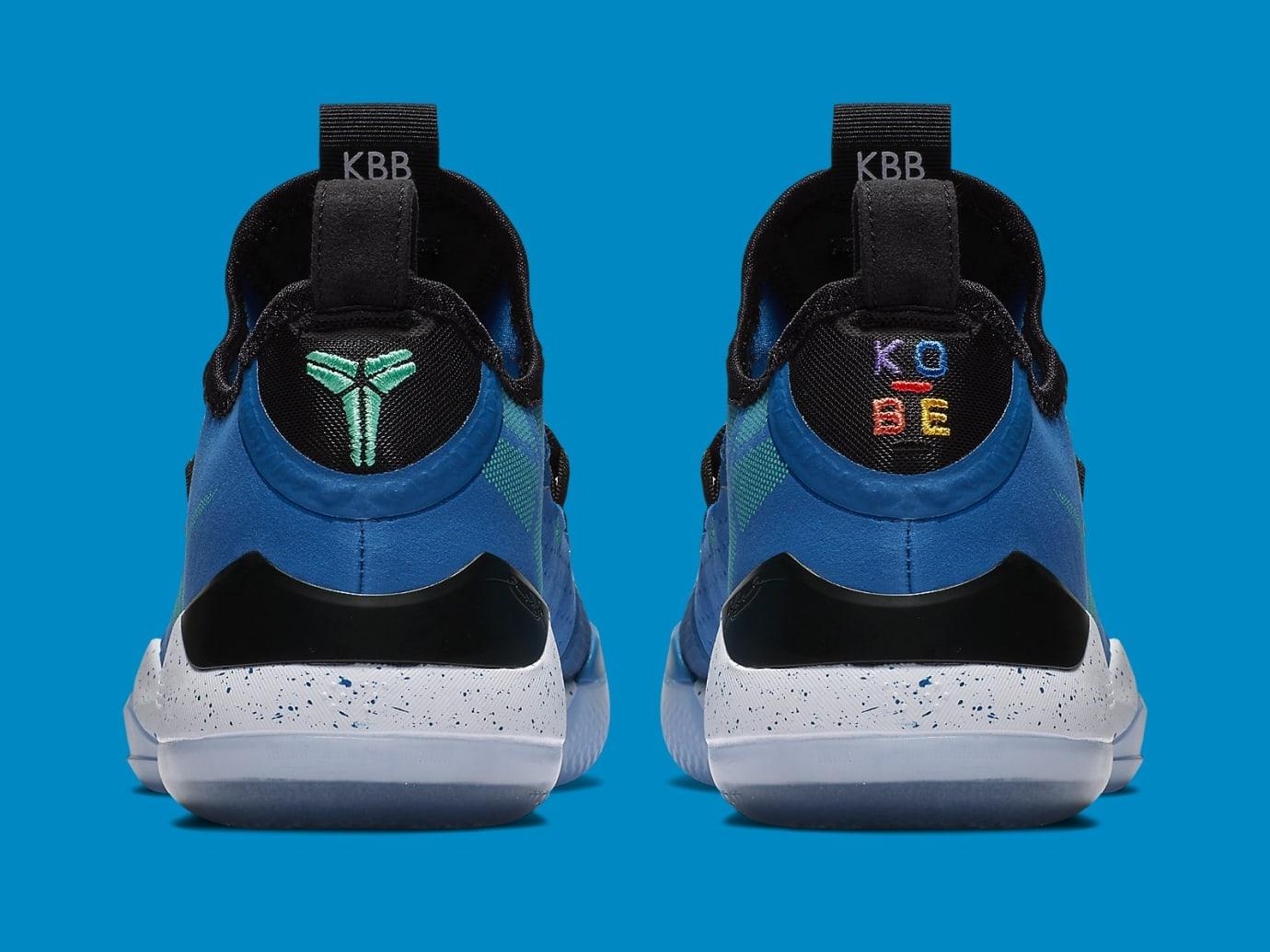 Nike Kobe A.D. Military Blue Sunblush Release Date AV3556-400 Heel