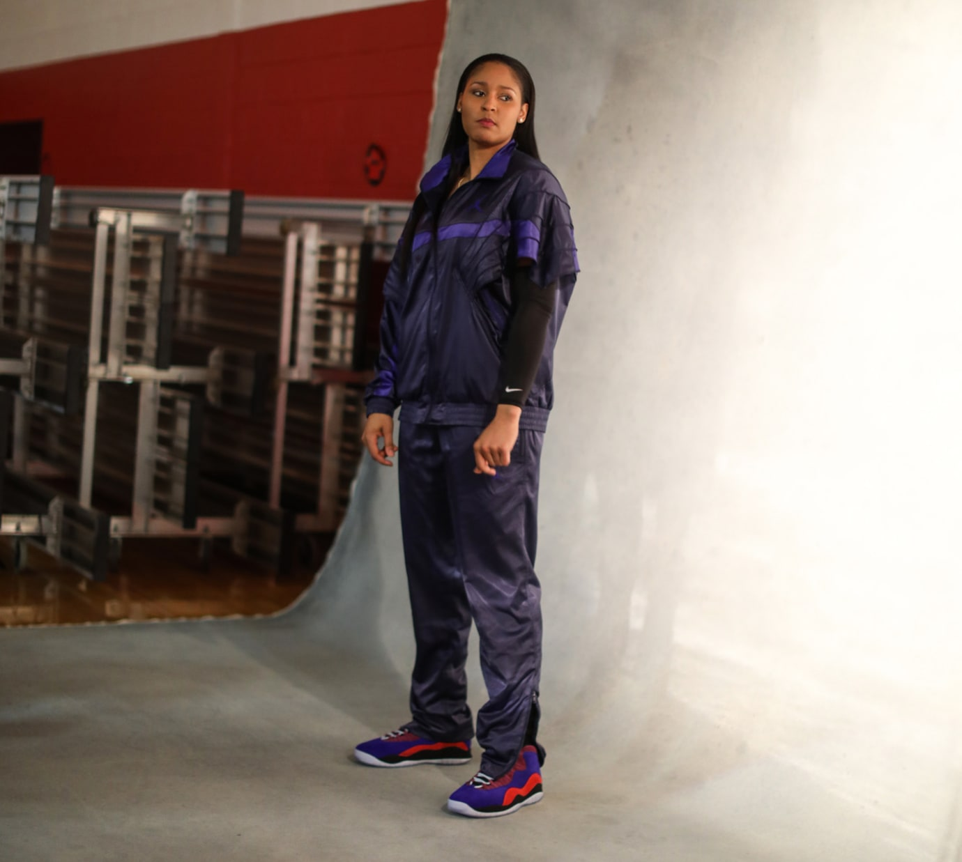 Aleali May x Air Jordan 1 Court Lux Maya Moore x Air Jordan 10 Court Lux 5