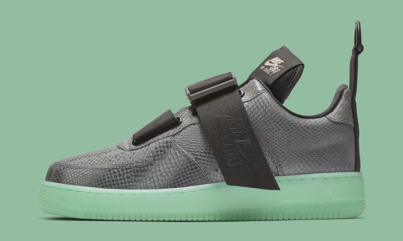 Nike Air Force 1 Low Utility 'OBJ' AV2040-001 (Lateral)