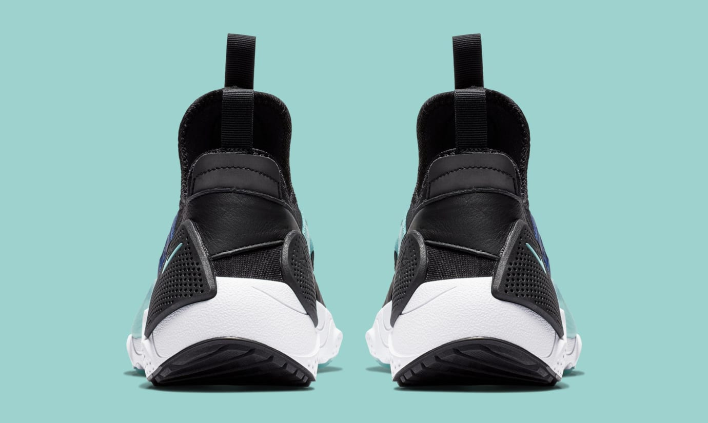 Nike Huarache E.D.G.E. TXT 'Indigo Force/Black' BQ5205-400 (Heel)