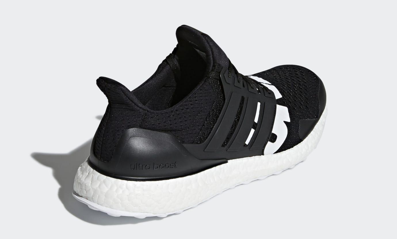 Undefeated x Adidas Ultra Boost B22480 (Heel)