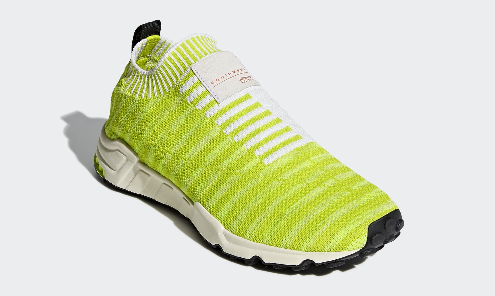 Adidas EQT Support Sock PK 'Solar Yellow' B37545 (Toe)