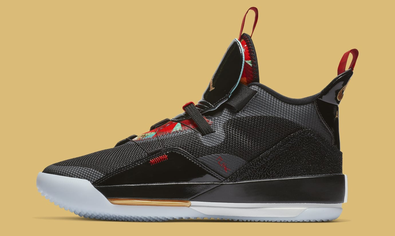 701c0f798379 Air Jordan 33  Chinese New Year  Release Date Jan. 4