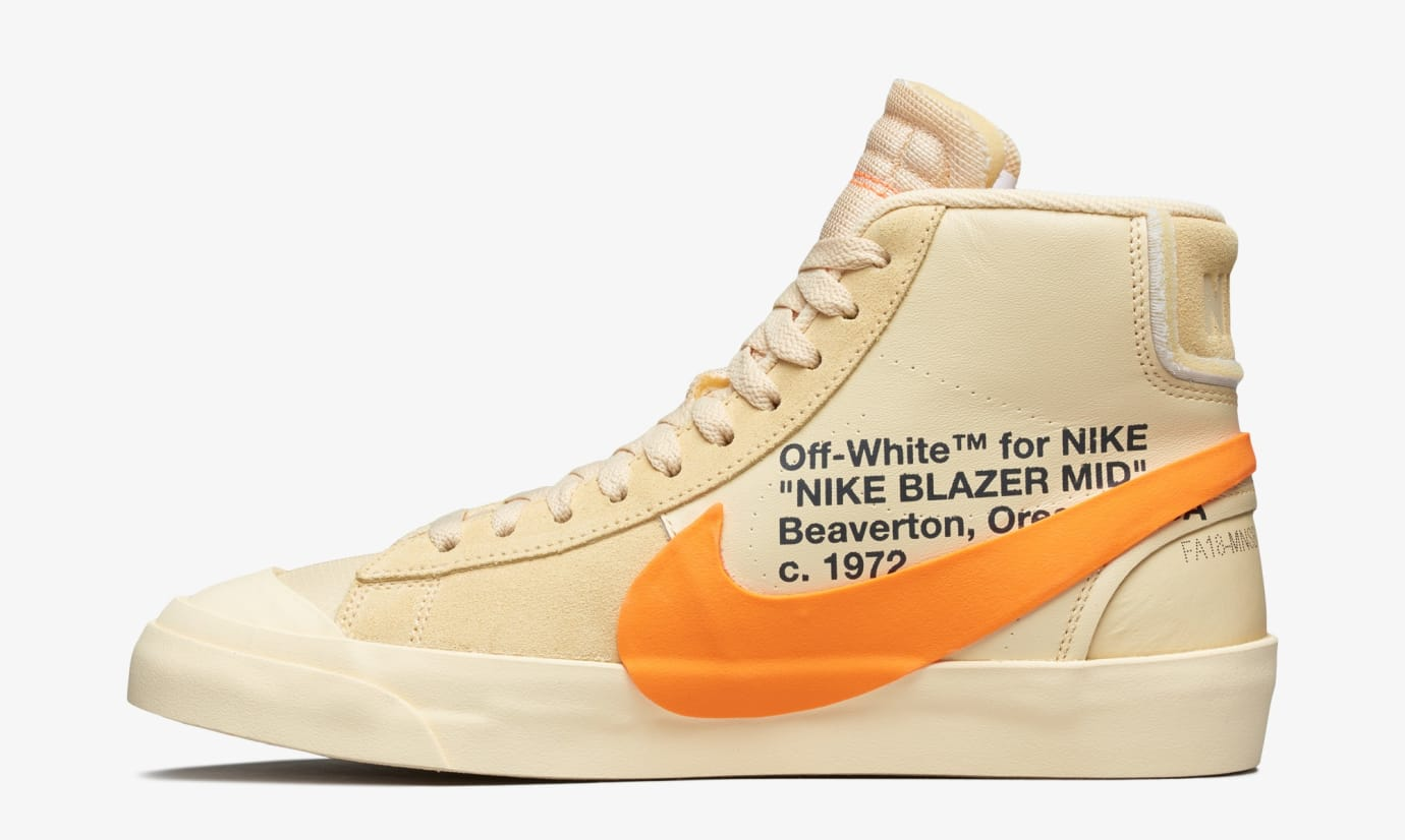 Off-White x Nike Blazer 'All Hallows' Eve' AA3832-700 (Medial)