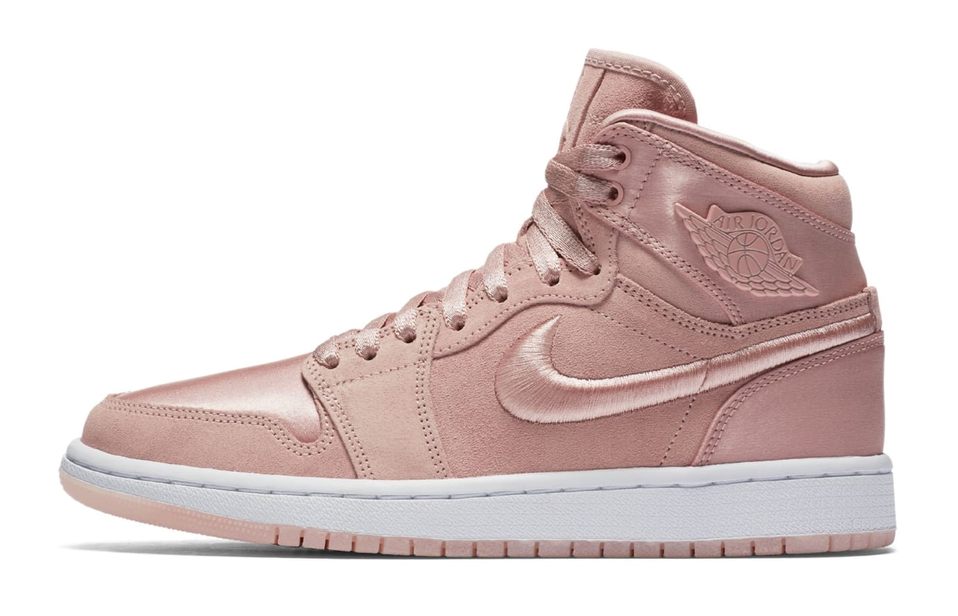 Air Jordan 1 Summer of High 'Sunset Tint' Sunset Tint/White-Metallic Gold (Lateral)