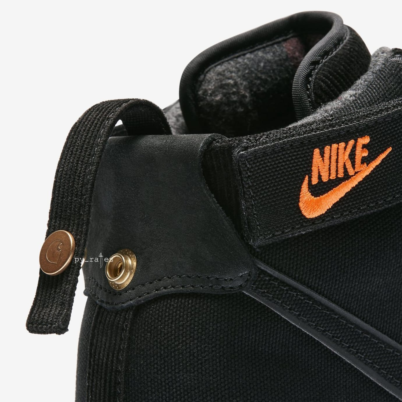 detailed look d60db c8d57 ... Carhartt WIP x Nike Vandal High Supreme
