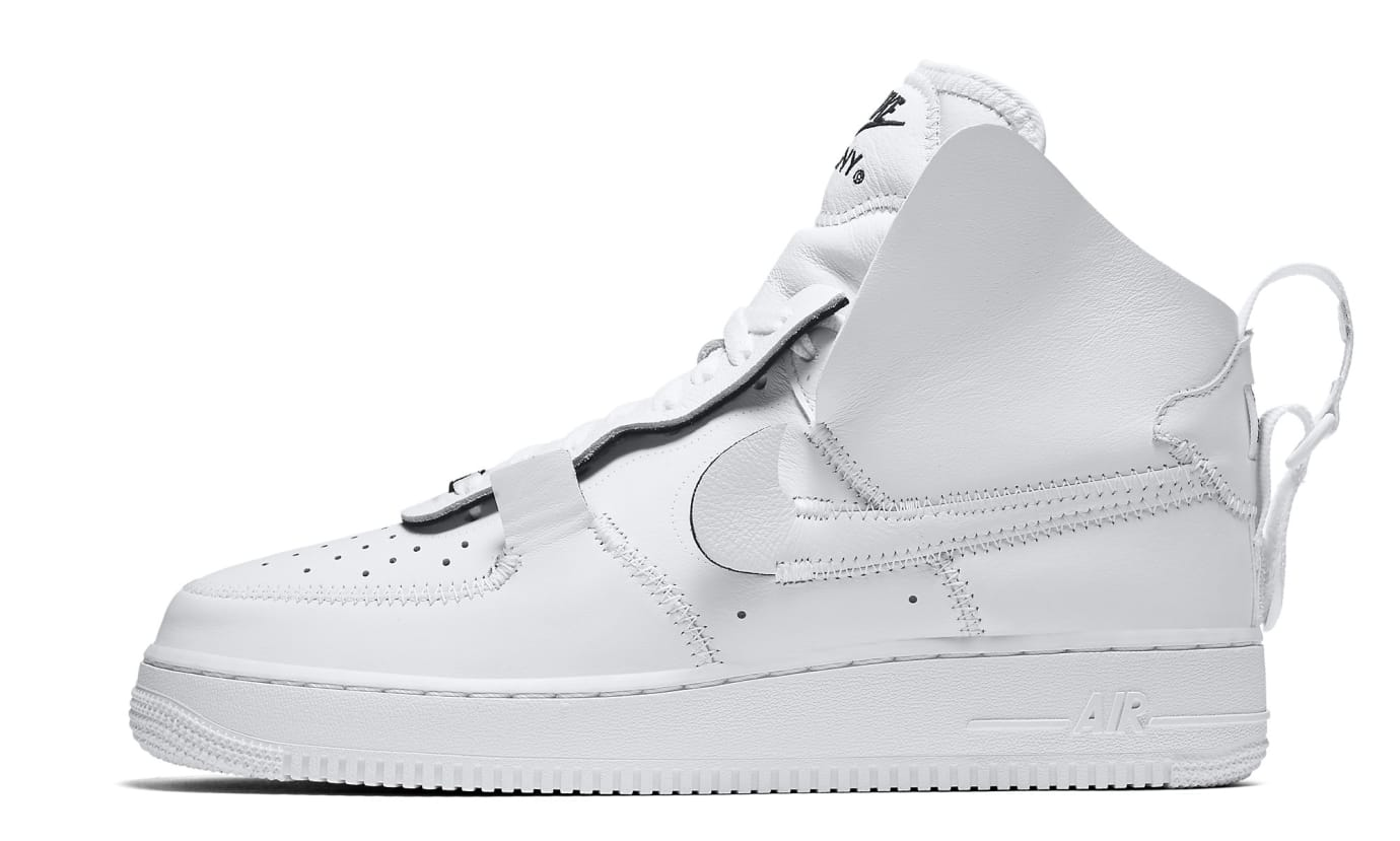 new styles 63967 dfc35 Image via Nike PSNY x Nike Air Force 1 AO9292-101 Pair