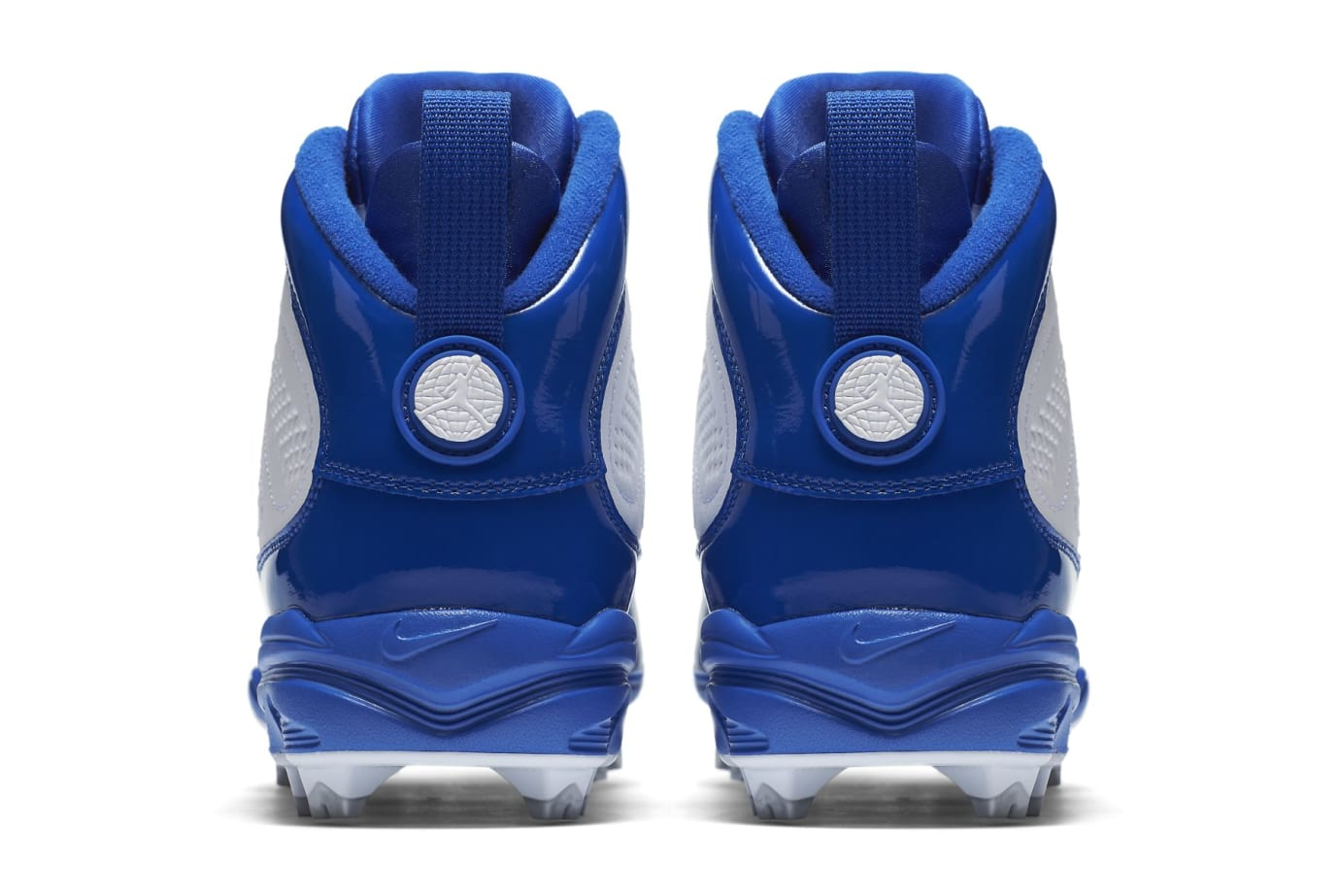Air Jordan 9 IX MCS Baseball Cleats Royal Heel