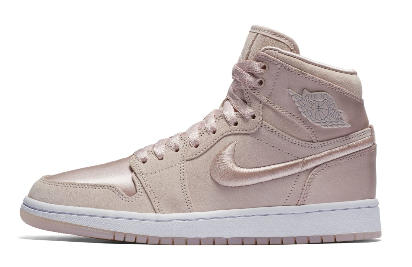 Air Jordan 1 Summer of High 'Silt Red' Silt Red/White-Metallic Gold (Lateral)